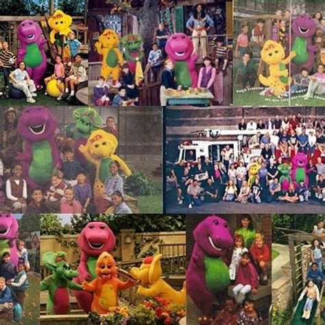 backyard show barney and friends 1993 pictures to pin on pinterest
