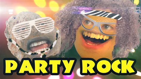 party rockin in the house tonight annoying orange party rock ft destorm youtube