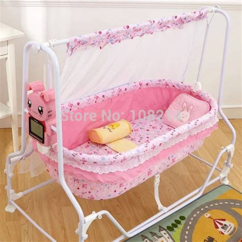 automatic swing baby cradle rug doctor does carpet dry big fluffy area rugs