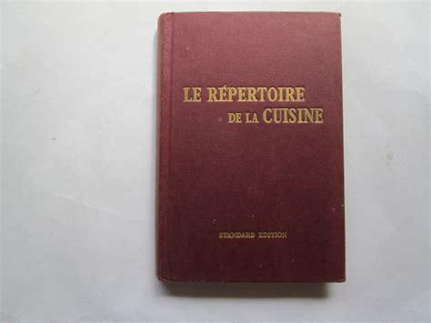 le repertoire de la cuisine le repertoire de la cuisine saulnier l foxing