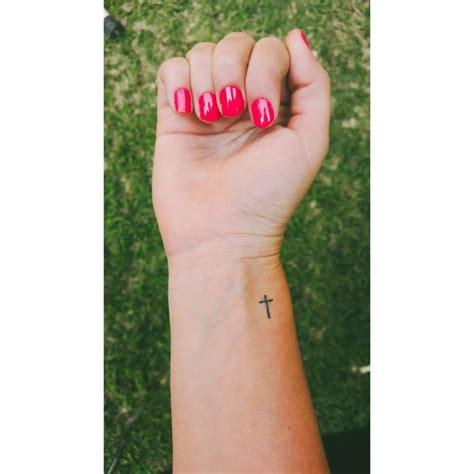 tattoo on side wrist best 25 cross wrist ideas on cross on