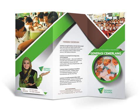 video desain brosur galeri desain brosur untuk caign donasi untuk pendidika