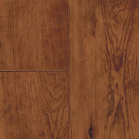 Cherry Laminate Flooring Shop Swiftlock 5 28 In W X 4 21 Ft L Rustic Cherry Wood Plank Laminate Flooring At Lowes