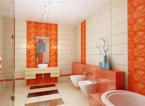 Badezimmer Fliesen Orange by Luxury Bathroom Tile Patterns And Design Colors Of 2018