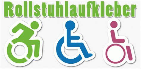 Rollstuhl Aufkleber Für Auto Kaufen by Rollstuhlaufkleber F 252 R Ihr Auto