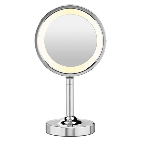 sided lighted mirror conair sided lighted mirror