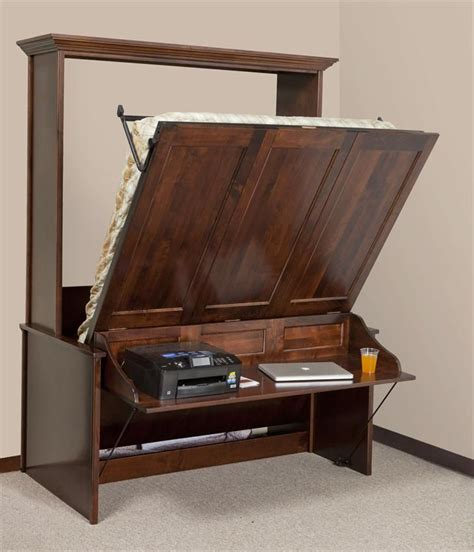 terrific murphy bed table inspiration diy better homes