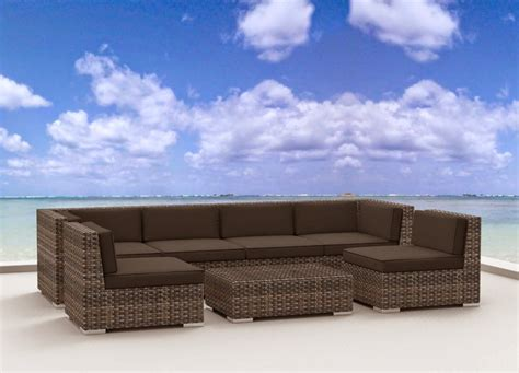 backyard couch urban furnishing modern outdoor backyard wicker rattan