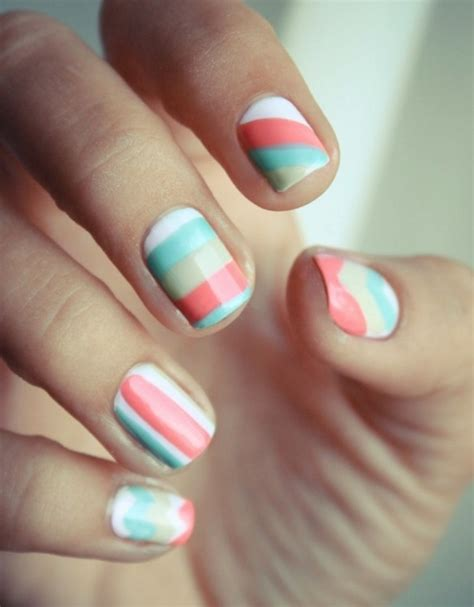 easy pattern for nails 20 simple nail designs for beginners
