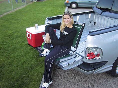 tailgatorz tailgate lounge chair mini truckin
