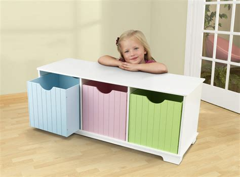 nantucket storage bench kidkraft nantucket pastel storage bench 14565 at