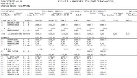 quando sera pago o adiantamento do decimo para aposentados em 2016 18 ficha financeira linha microsiga protheus tdn