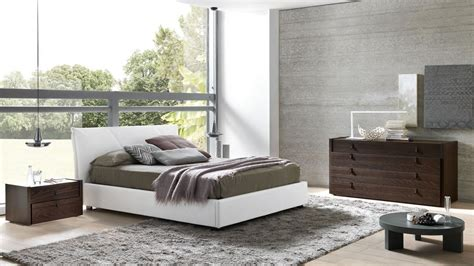 made in italy leather master bedroom design with