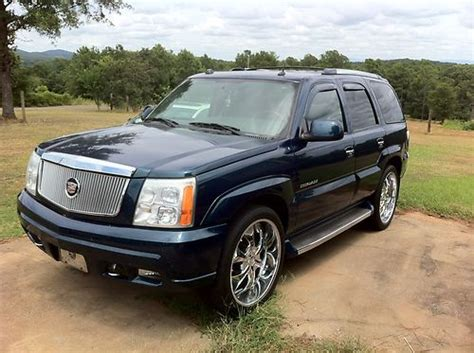 base sport utility 4 door buy used 2005 cadillac escalade base sport utility 4 door 6 0l in talladega alabama united states