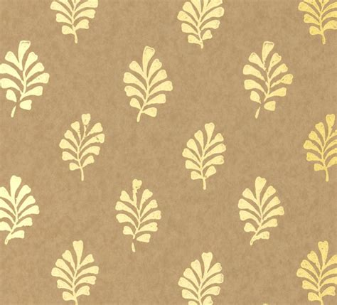 gold wallpaper designs uk metallic gold leaf wallpaper modern wallpaper by furbish