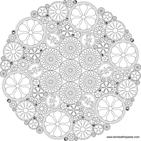difficult mandala coloring pages printable difficult level mandala coloring pages really intricate