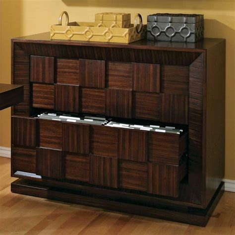 decorative filing cabinet wood impression from the