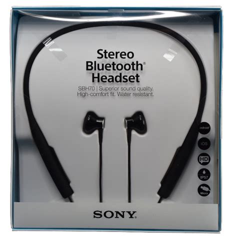 Sony Stereo Bluetooth Headset Sbh70 sony sbh70 nfc multipoint stereo bluetooth headset water