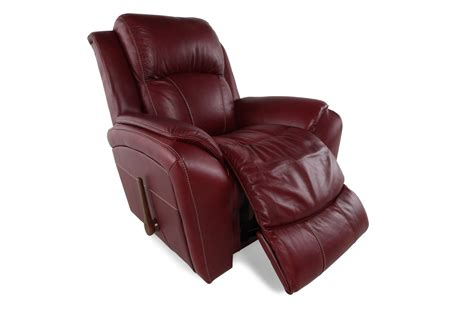 recliner la z boy la z boy barrett fire rocker recliner mathis brothers