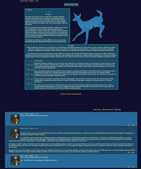 biography css templates free biography templates css the endless forest