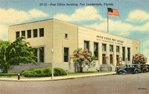 Fort Post Office by Florida Memory Post Office Building Fort Lauderdale