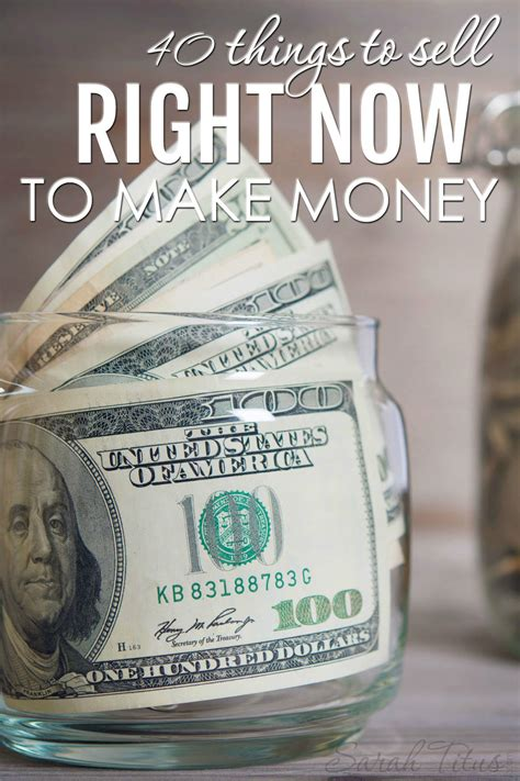40 things to sell right now to make money titus