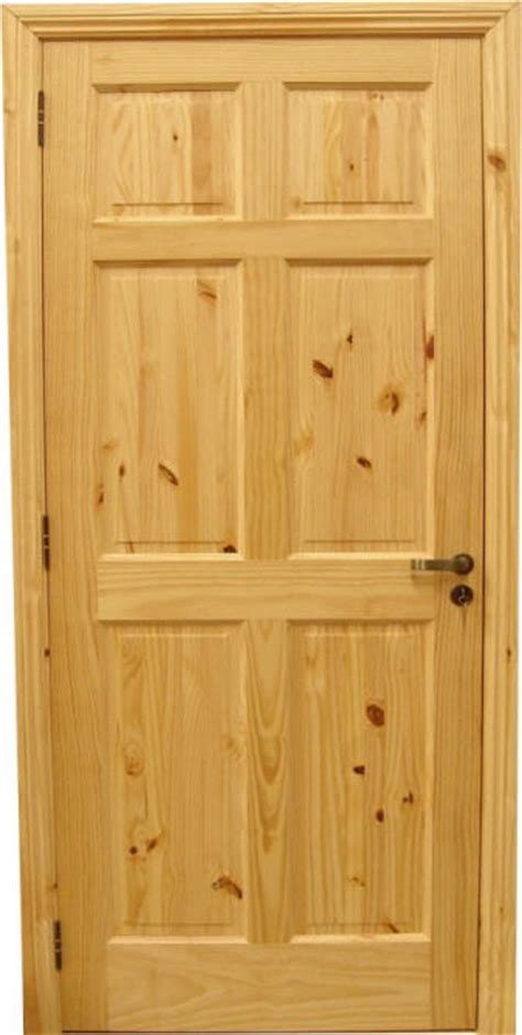 6 Panel Knotty Pine Interior Doors Rustic Interior Doors Country Wood Doors Homestead Doors Inc
