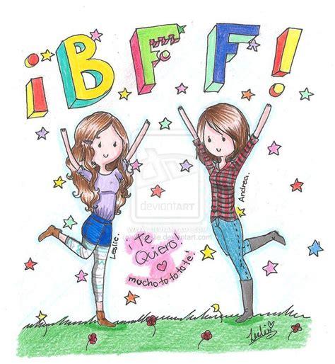 imagenes para amigas pinterest dibujos de amigas mejores amigas por siempre by