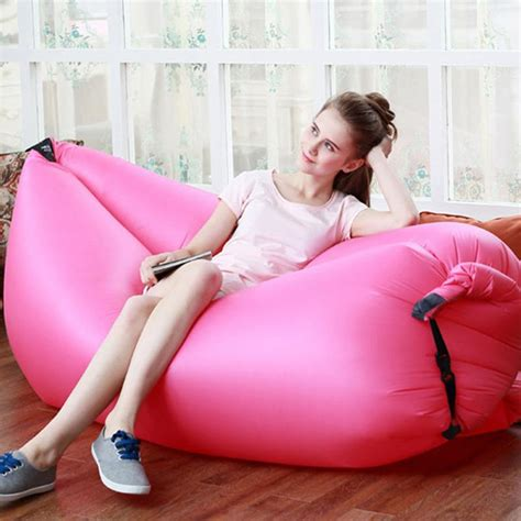 Lazy Sofa Lazy Bed Lazy Chair Travel Cing Sofa Angin lazy sleeping sofa bed portable travel outdoor folding sofa chair one seat bag
