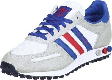 Adidas La Trainer adidas la trainer textile schuhe wei 223 rot blau