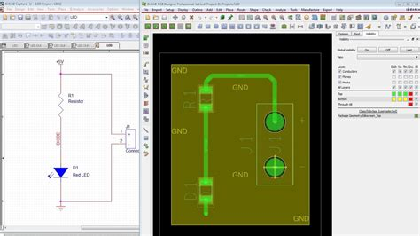 cadence layout youtube orcad schematic to pcb tutorial altium designer vs orcad