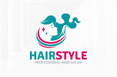 salon logo templates hairstyle salon logo template logo templates creative