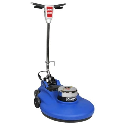 clarke 174 high speed floor buffer with dust