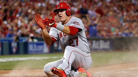 mike trout bench press the future looked pretty fun at the mlb all star game so why can t we have it now 171