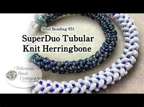 beading herringbone ndebele stitch on pinterest 128 pins video superduo tubular knit herringbone seed bead