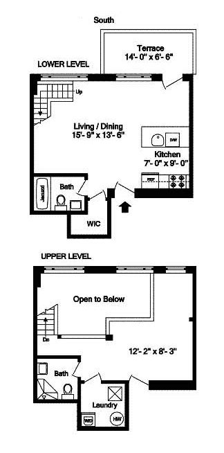 railroad style apartment floor plan 28 types of apartments in nyc luxury new york