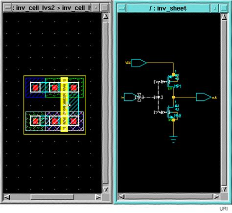 layout versus schematic layout vs schematic tutorial