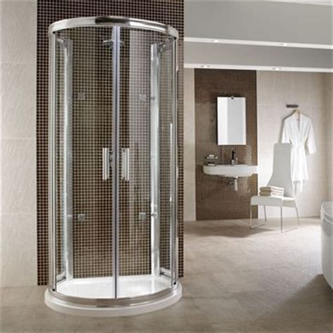 Large D Shaped Shower Enclosure by D Shape One Wall Shower Enclosure From Twyford Fantastic
