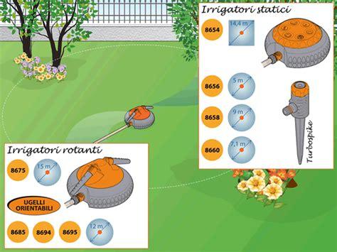 irrigatori esterni per giardino guida per realizzare impianto irrigazione fuoriterra claber