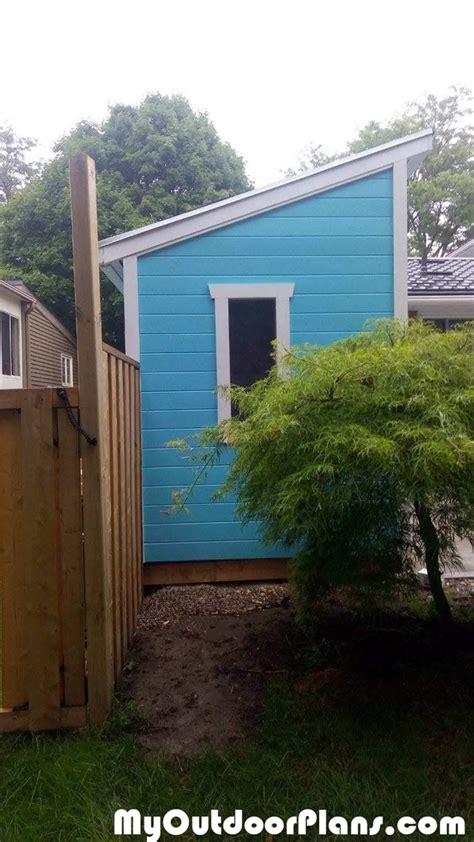diy  lean  shed myoutdoorplans  woodworking