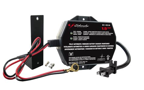 boat battery reverse polarity battery charger fully automatic onboard 1 5 a power 6 12