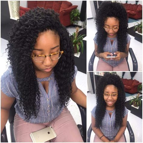 different ways to style crochet curls crochet pinteres