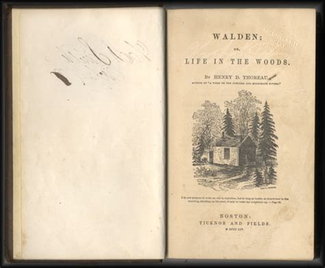 walden book 1st edition from the stacks protecting walden miami