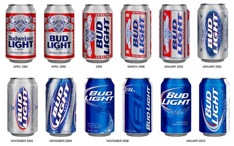 light vs bud light brand packaging for bud light by jones knowles