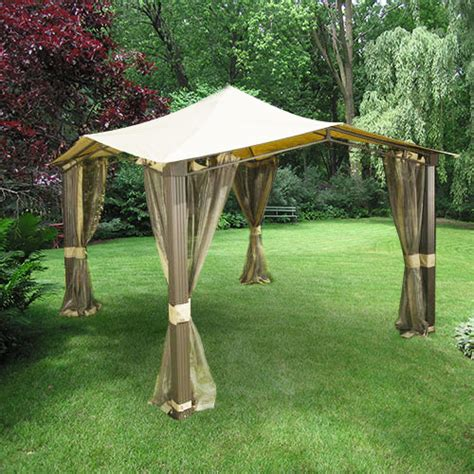 Backyard Creations Hexagon Gazebo Backyard Creations Replacement Canopy 2017 2018 Best