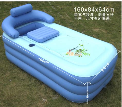 portable bathtub spas deluxe thickened pvc spa portable air bathtub enjoyable