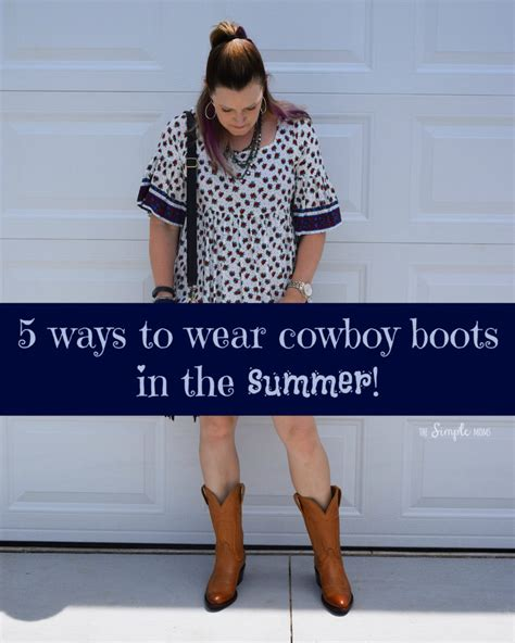8 Ways To Wear Summer Clothes In Other Seasons by How To Wear Cowboy Boots In Summer The Real Way A