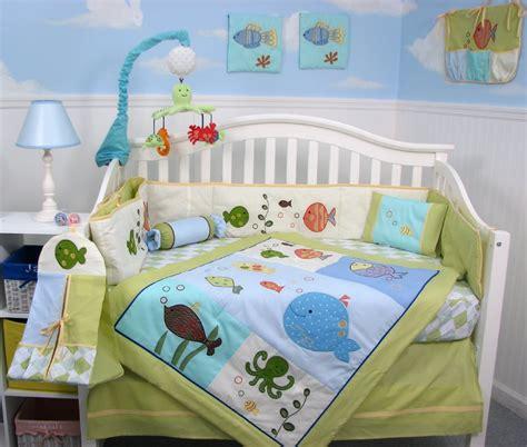 fishing crib bedding amazon com fisher price ocean wonders gentle waves