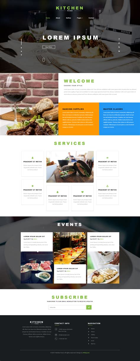 bootstrap templates for restaurant free download kitchen food a restaurants category bootstrap responsive