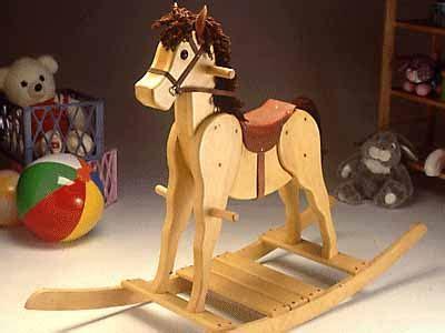 wooden rocking horse kit   build  amazing diy